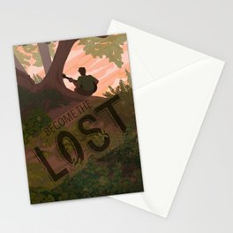 Become The Lost Stationery Cards