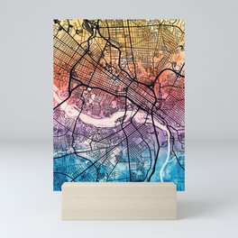 Richmond Virgina City Map Mini Art Print