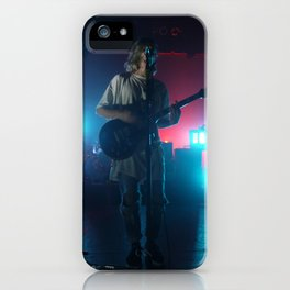 Christian Zucconi of Grouplove at Terminal 5, New York iPhone Case
