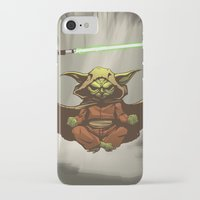 yoda iPhone & iPod Cases featuring Yoda by Marc Vuletich