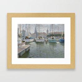 La Rochelle Framed Art Print