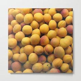 Apricot Pile Metal Print