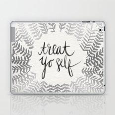 Treat Yo Self – Silver Laptop & iPad Skin