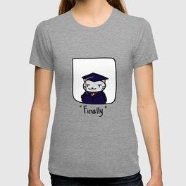 Graduate Cat T-shirt