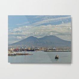 Mt. Vesuvius Metal Print