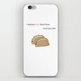 Taco Love iPhone Skin
