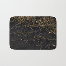 Black & Gold Bath Mat