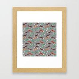 BOW TIES Framed Art Print