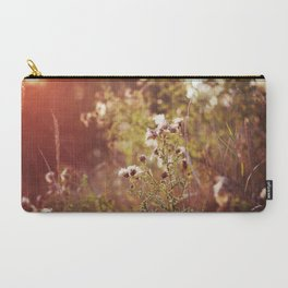 golden dandelions. Carry-All Pouch