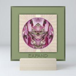 Expand Manifestation Mandala No. 8 Mini Art Print