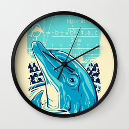 Aquatic problem Wall Clock