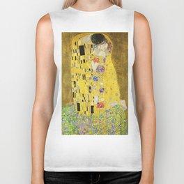 The Kiss - Gustav Klimt, 1907 Biker Tank