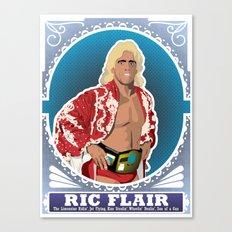 Ric Flair WOOOOO! Canvas Print