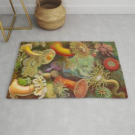 Vintage Sealife Underwater Rug