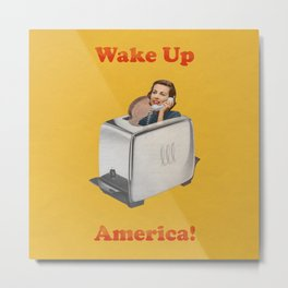 Wake Up Call Metal Print
