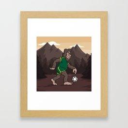 LOOK Sasquatch! Framed Art Print