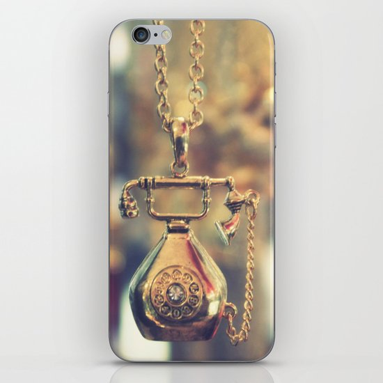 i just called to say ...  iPhone & iPod Skin