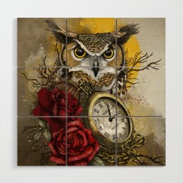 Time is Wise Wood Wall Art