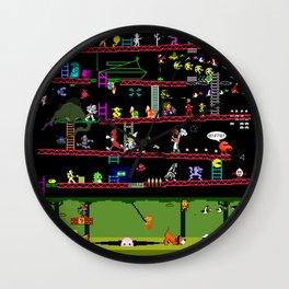 Retro Game Classics Wall Clock