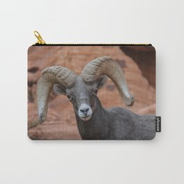 Desert Bighorn, Valley of Fire - IV Carry-All Pouch