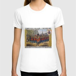 1879 P.T. Barnum's Great London Circus Vintage Advertisement Poster T-shirt