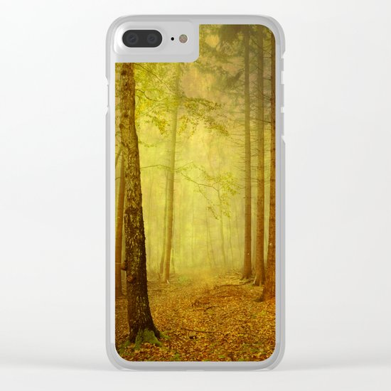 fairytale path Clear iPhone Case