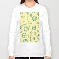 egypt Long Sleeve T-shirts featuring Egypt by estellesmorris