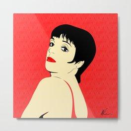 Liza Minnelli | Pop Art Metal Print