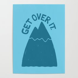 GET OVER /T Poster