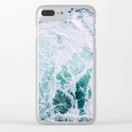 Ocean Splash III Clear iPhone Case