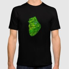 Landscape of My Heart (4 as 1) Mens Fitted Tee MEDIUM Black