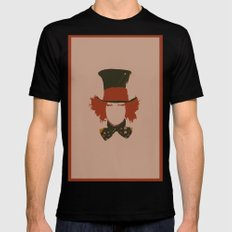 Johnny Depp Black MEDIUM Mens Fitted Tee