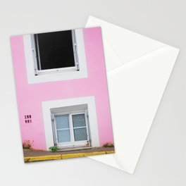 50. The Pink Wall, Bretagne, France Stationery Cards