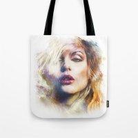 blondie Tote Bags featuring Blondie by turksworks