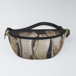 Wood Slabs Fanny Pack