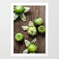Tomatillos Art Print