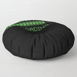 Hairstylist Loading Floor Pillow