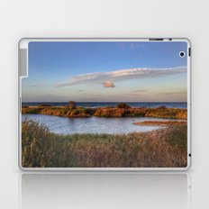 Autumn comes to the beach Laptop & iPad Skin