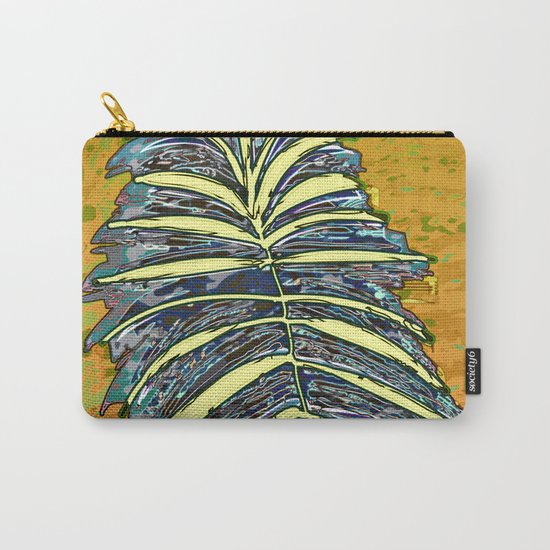 Palm Leaf Fosil 2 / Nature 13-12-16 Carry-All Pouch