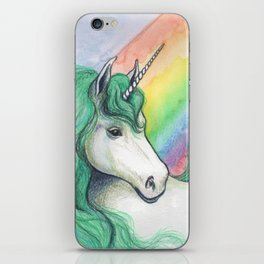 Rainbow Unicorn iPhone Skin