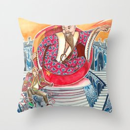 The Nightingale Series - 2 of 8 Throw Pillow