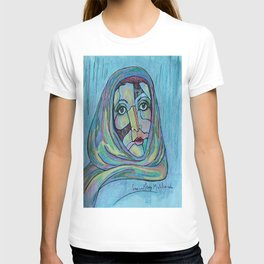LILIOS WITH SCARF T-shirt