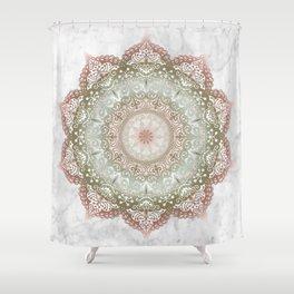 Dreamer Mandala Shower Curtain