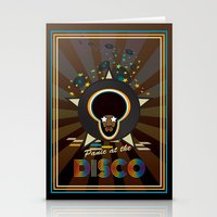 panic at the disco Stationery Cards featuring Panic at the disco by mangulica