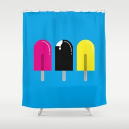 Ice pops Shower Curtain