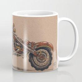 Purrs Like Leather Coffee Mug