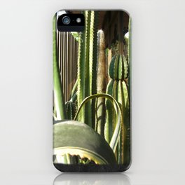 Cactus Garden Blank P4F0 iPhone Case