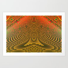 Shiva Consciousness Art Print