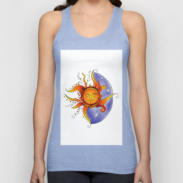 Euphoric Sun in Color Unisex Tank Top