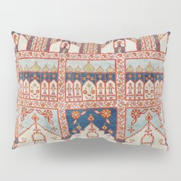 North Indian Pictorial Rug Print Pillow Sham